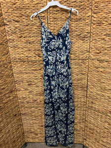 Bailey44 Navy Maxi Rushed Front Dress