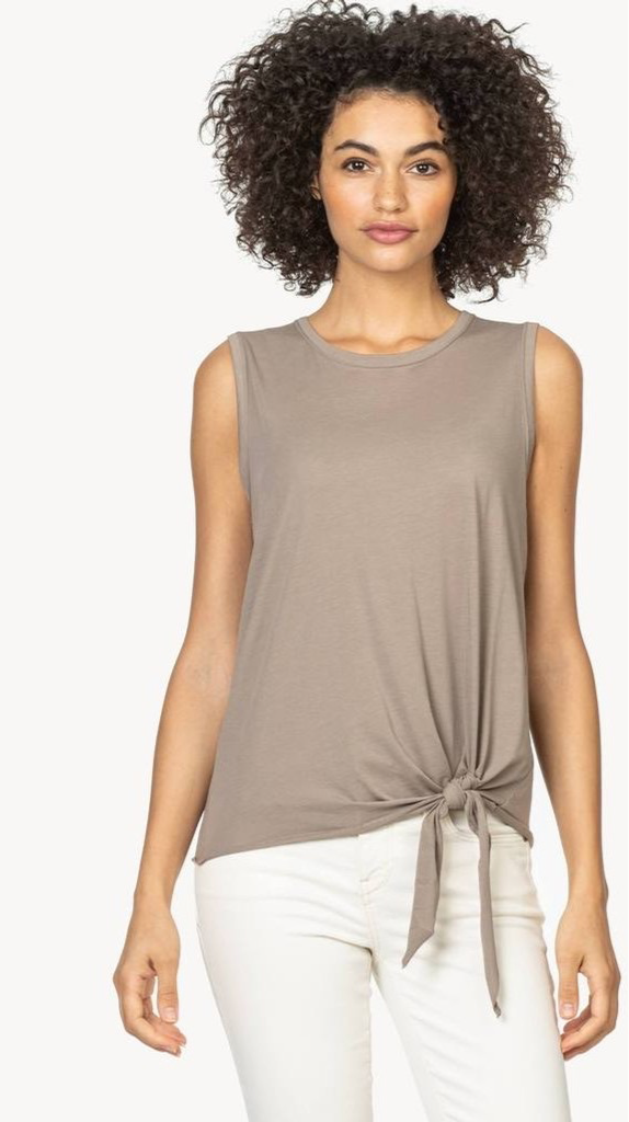 Lilla P Tie front Tank driftwood