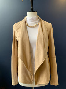 BB Dakota Tan Suede Jacket