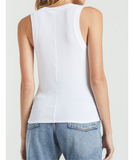 Z Supply White Ribbed Tank