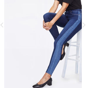 NYDJ Ami ankle Light/dark Wash Denim