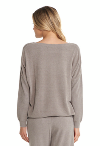 Barefoot Dreams Slouchy Pullover Beach Rock