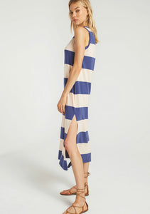 Z Supply Lida Stripe Dress Blue