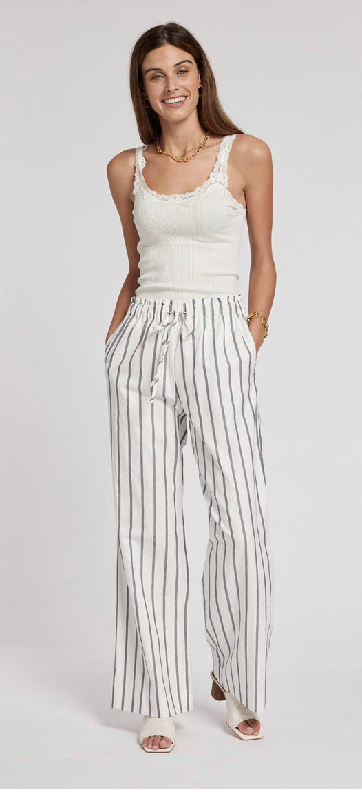 Palmer Navy/White Stripe Pant