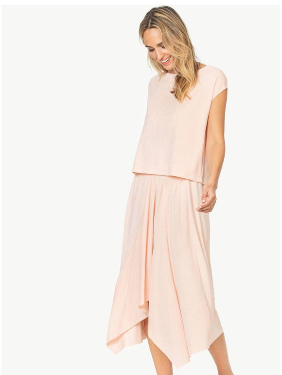 Lilla P Pink Terry Easy Tee