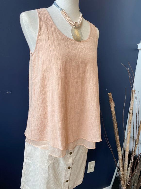Lilla P Pink Double Layer Tank