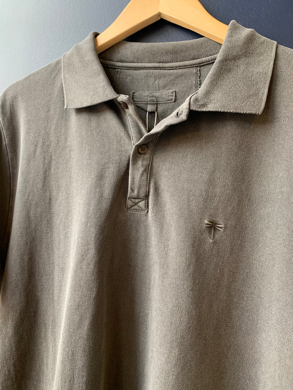 Tyler Boe Mens' Wood Mineral Wash Polo
