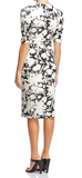 Bailey44 Black/Ivory Floral Puff Sleeve Dress