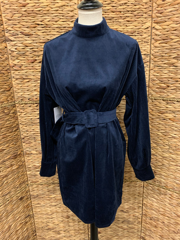 JOA Navy Cord Dress/Tunic