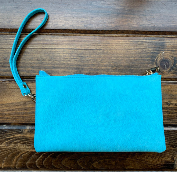 Teal Liz Custom Collection Crossbody Bag