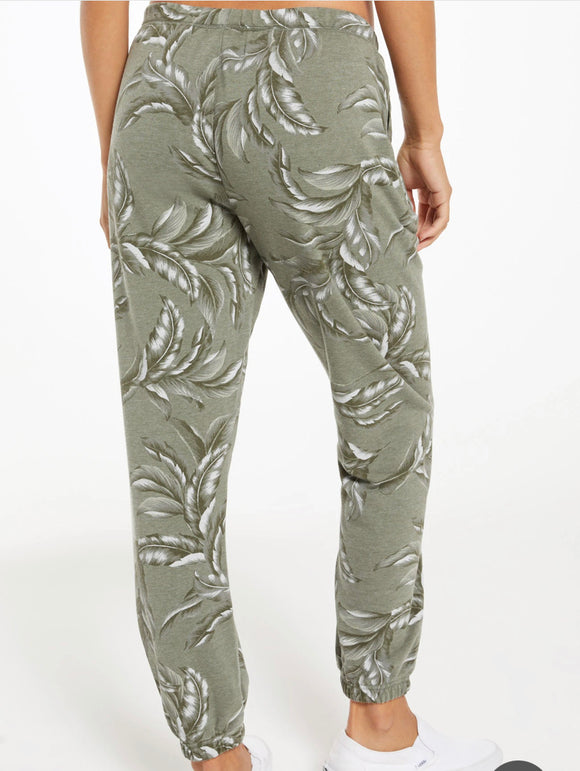 Green Palm Jogger