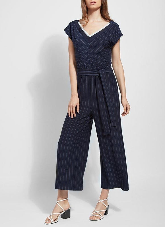 Lysse Anchor Stripe Jumpsuit