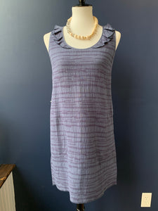 Lilla P Navy Texture Dress