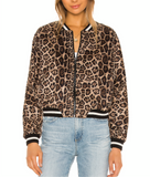 BB Dakota Leopard bomber Jacket