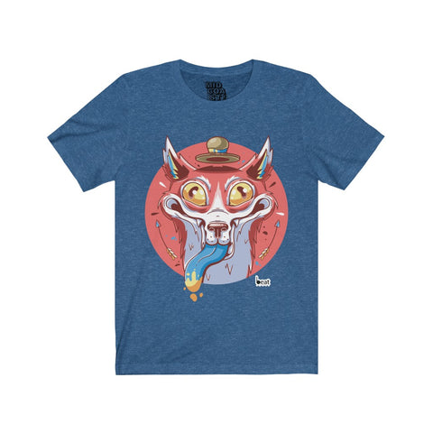 Crazy Fox! | Jersey Short Sleeve Tee