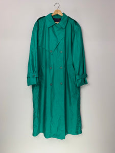 Lucky Spearmint Trench Coat