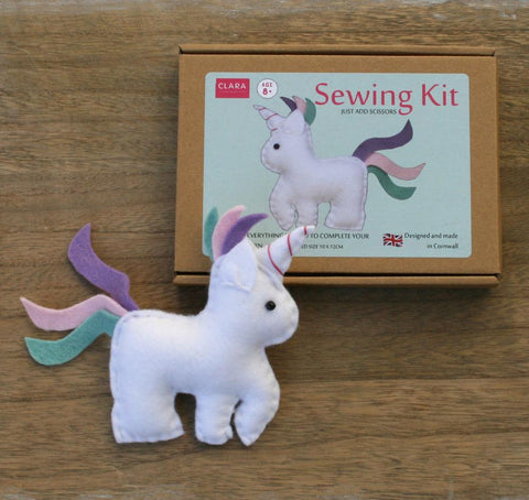 Mini Unicorn Craft Sewing Kit