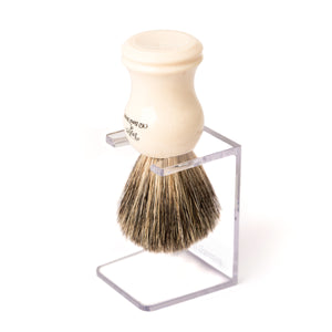 Clear Shaving Brush Drip Stand