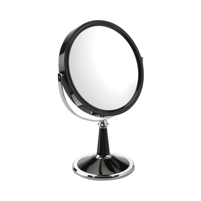 Black Freestanding Mirror 10x