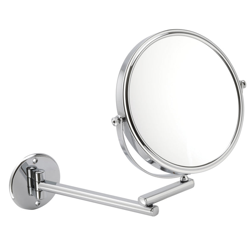 Chrome Wall Mounted Mirror 10x
