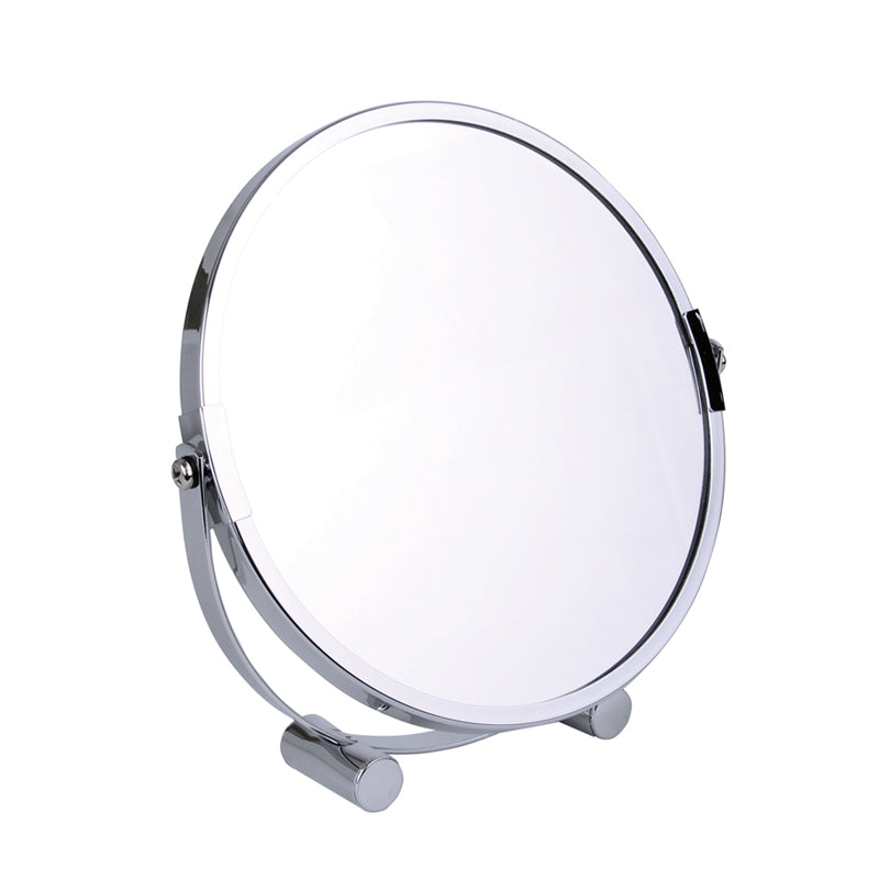Chrome Freestanding Mirror 5x