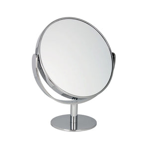 Chrome Freestanding Mirror 10x