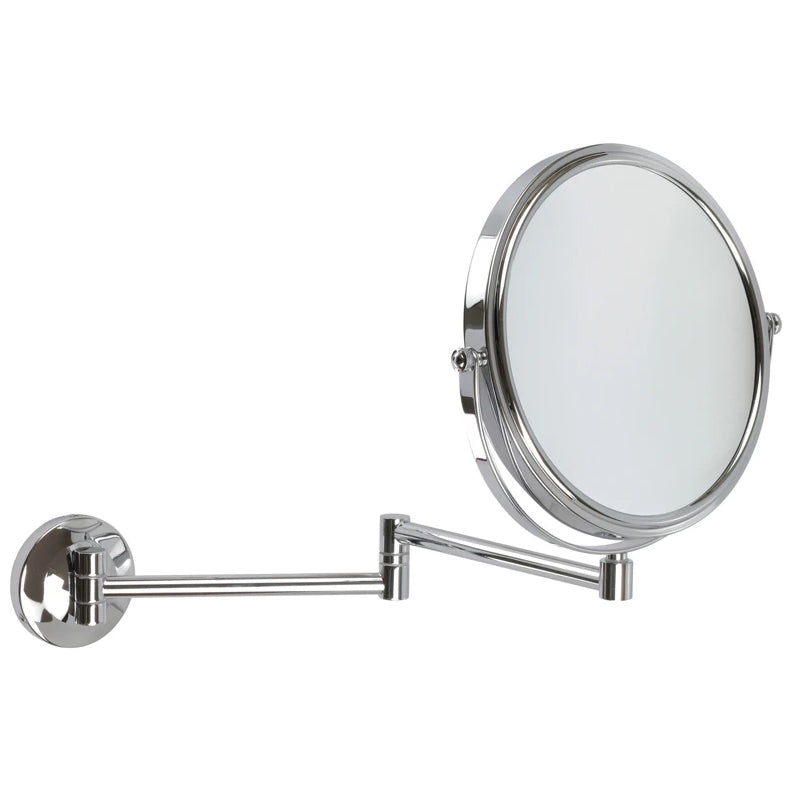 Chrome Wall Mounted Mirror 5x