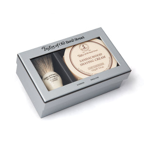 Pure Badger & Sandalwood Shaving Cream Gift Box