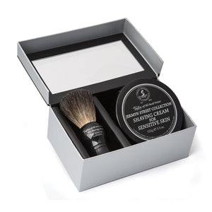 Black Pure Badger Brush & Jermyn Street Gift Box