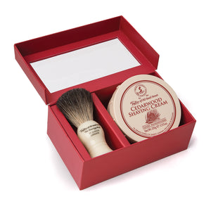 Pure Badger & Cedarwood Shaving Cream Gift Box