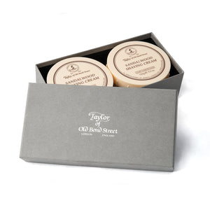 Sandalwood Shaving Cream Gift Box