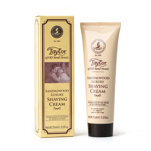 Sandalwood Shaving Cream Tube 75ml