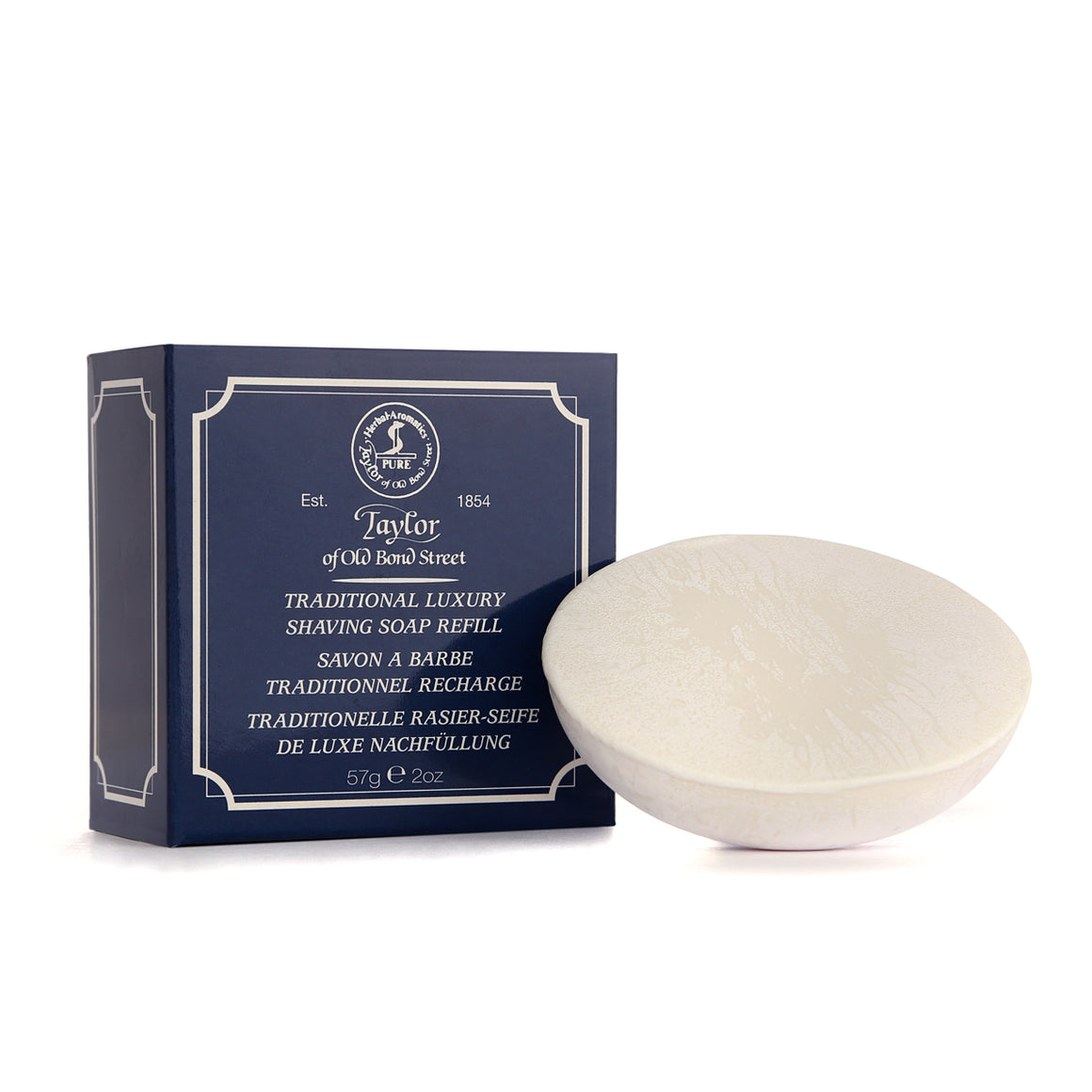 Traditional Shaving Soap Refill 57g