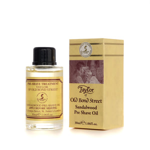 Taylor of Old Bond Street Sandalwood Pre Shave Oil 30ml