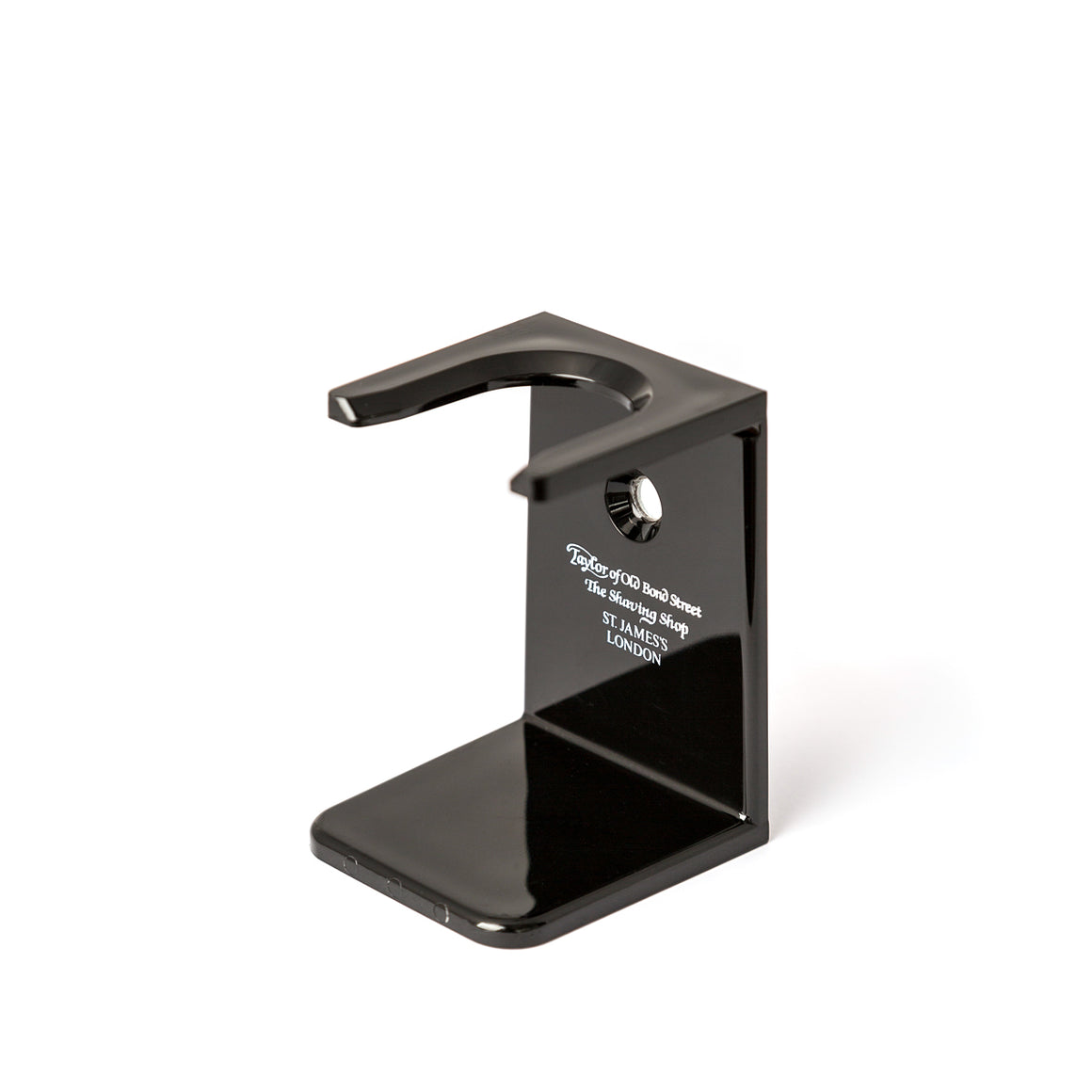 Black Shaving Brush Stand