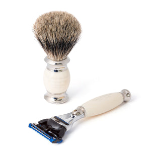 Pure Fusion Edwardian Shaving Set (Individual items)