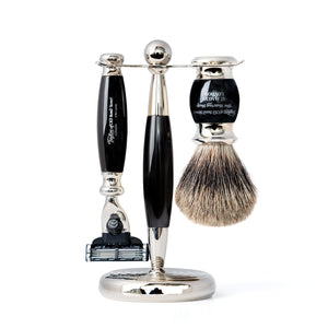 Pure Mach3 Edwardian Shaving Set