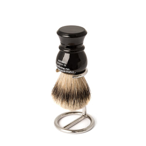 Nickel Shaving Brush Stand from Taylor of Old Bond Street