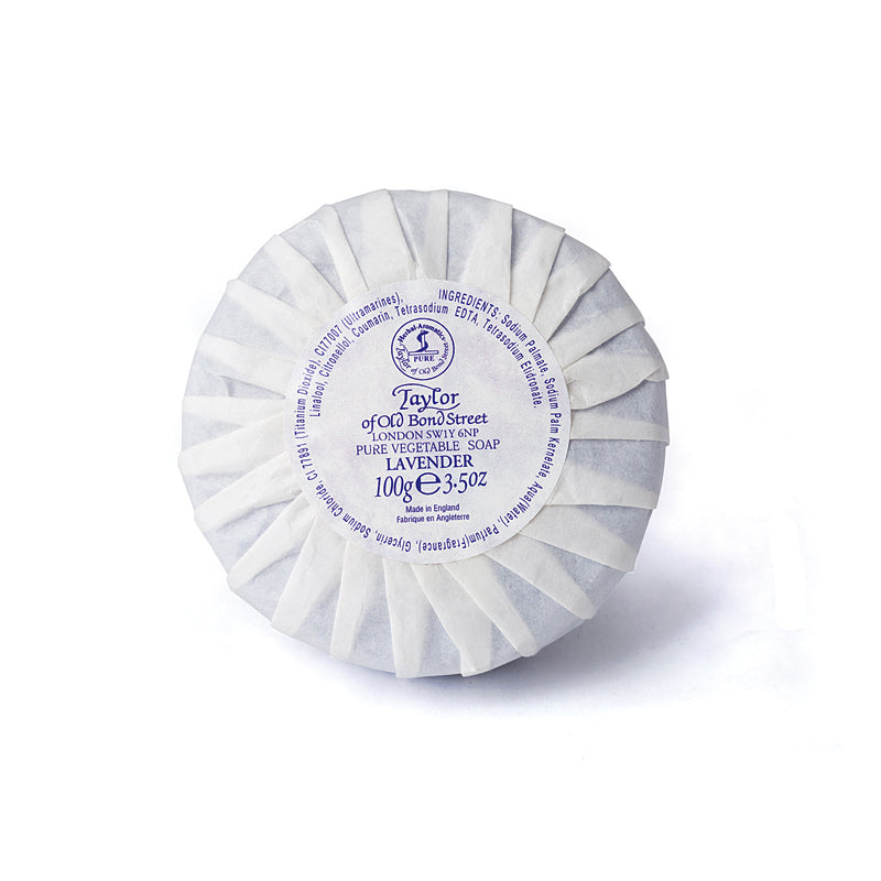 Lavender Hand Soap 100g from Taylor of Old Bond Street