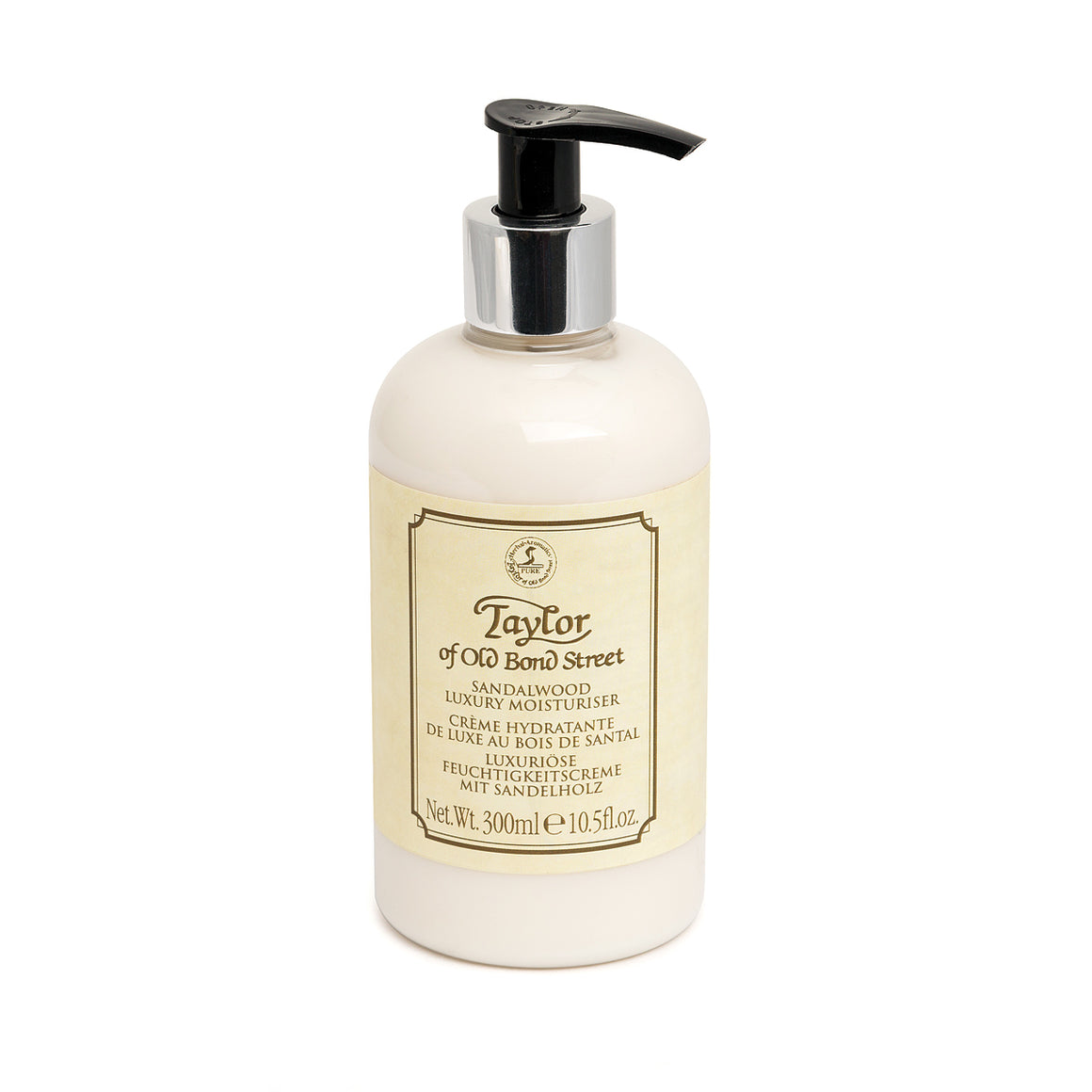Taylor of Old Bond Street Sandalwood Moisturiser 300ml