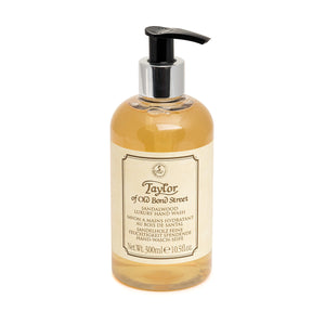 Taylor of Old Bond Street Sandalwood Hand Wash