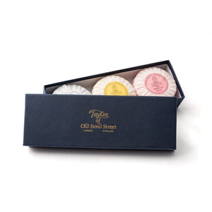 Mixed Hand Soap Gift Box from Taylor of Old Bond Street