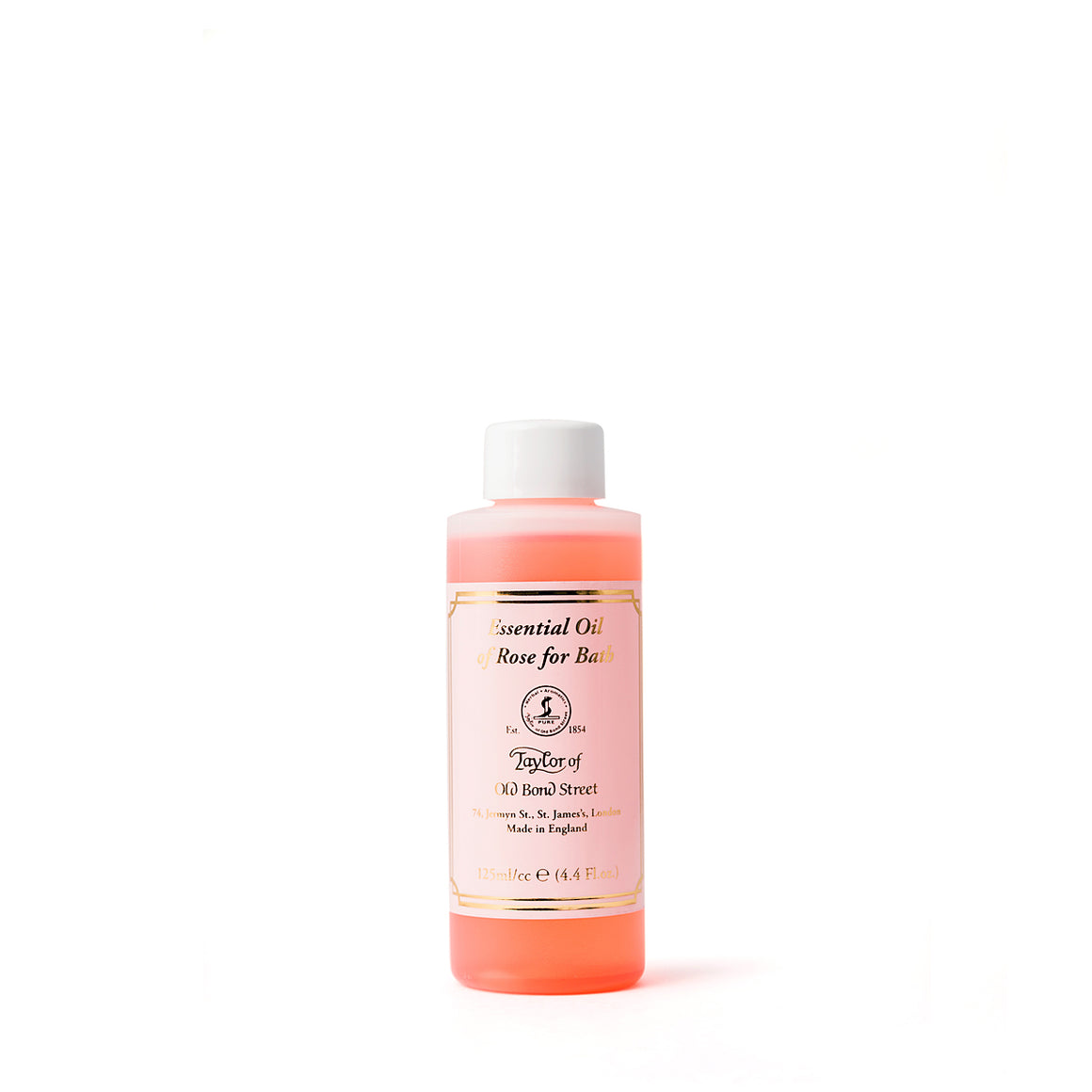 Rose Bath Oil 125ml