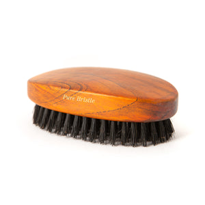 Taylor of Old Bond Street Dark Wood Military Hairbrush