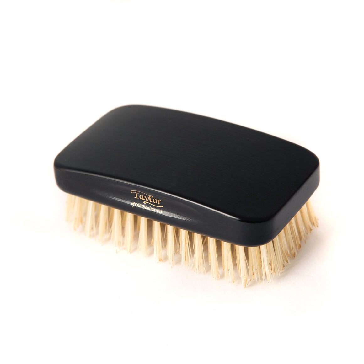 Taylor of Old Bond Street Handmade Ebony Wood Military Hairbrush