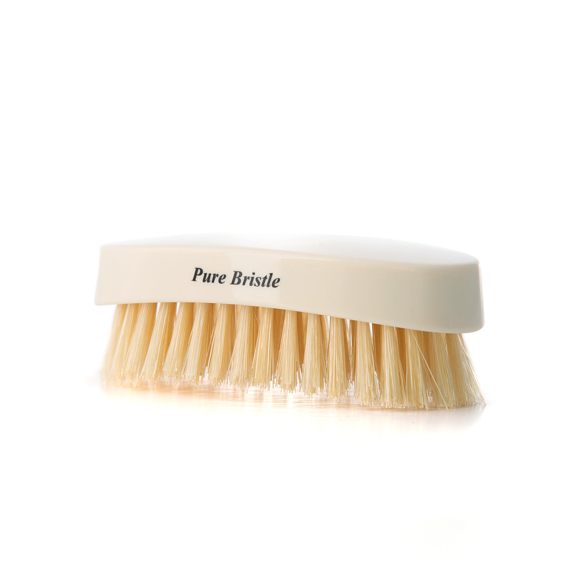 Travel Imitation Ivory Military Hairbrush