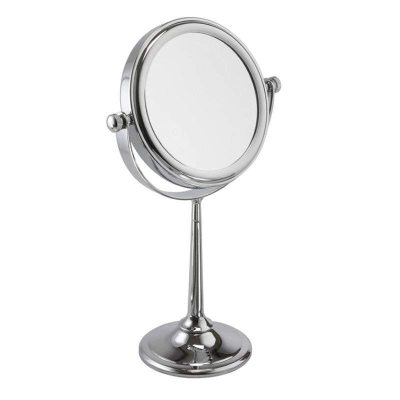 Chrome Freestanding Mirror 7x