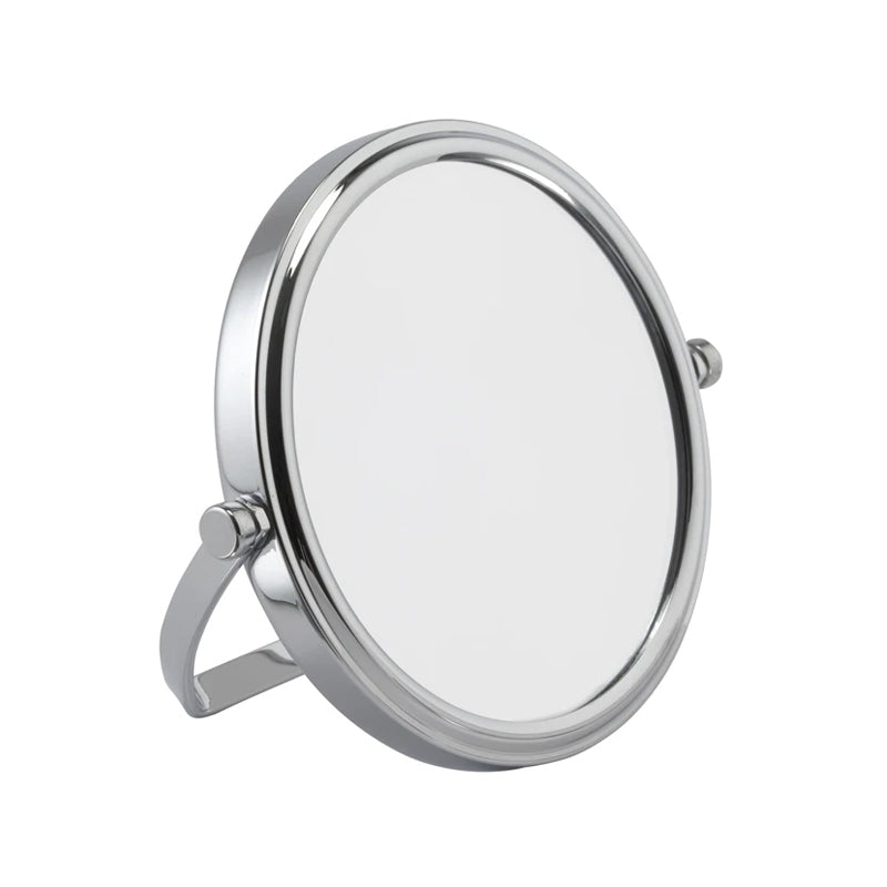 Chrome Travel Mirror 7x