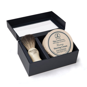 Pure Badger & St James Shaving Cream Gift Box