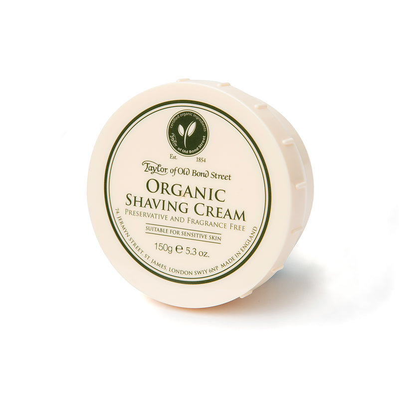 Organic Shaving Cream Bowl 150g